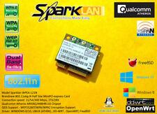 Sparklan WPEA-121N 802.11ABG/N minipci-express wireless lan Dualband 2.4ghz 5ghz