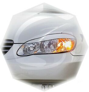 For Toyota Corolla E130 Sedan Eyebrows Eyelids Eyeline 2003-2007 Set 2pcs