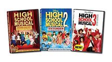 High School Musical 1 2 3 Complete DVD Set Film Collection TV Series Zac Show R1