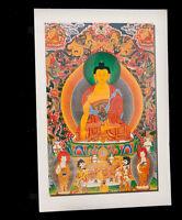 Cartolina Tibetano Budda Tibet Vajrayoginī Nepal 9261