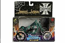 Muscle Machines Jesse James West Coast Choppers Cherry CFL 1:18 Scale