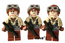 LEGO STAR WARS 3 NABOO LUCHADOR PILOTOS MINI FIGURAS