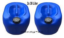 2x Kanister 30L Behälter Heizöl Vorratsbehälter Öl Diesel Benzin Floss 30 Liter