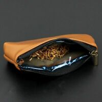 Pipe Pouch Bag Faux Leather Pipe Smoking Tobacco Pouch Cover Case Bag Holder