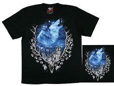 Biker Indianer Country Reiter T-Shirt Wolf, Wölfe Gr. S, M ,L, XL,Cowboy,Chopper