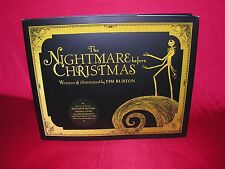 The Nightmare Before Christmas Book, Exclusive Hardcover Edition with DVD - NEW!