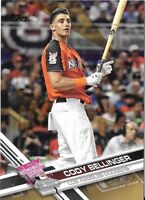 Cody Bellinger 2017 Topps Update GOLD BORDER /2017 Dodgers HR Derby #US300
