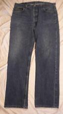 Made in USA LEVI'S 501 RED TAB 40 X 33 Vtg Dark Blue Denim Jeans (Tag 40/36)