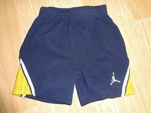 Infant/Baby Jordan 12 Mo Shorts (Navy/Yellow)
