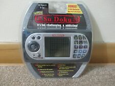 NEW SEALED SUDOKU ELECTRONIC TRAVEL GAME 16000 PUZZLES 4 LEVELS AUTO SAVE TIMER