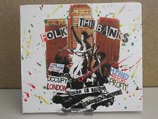 FOLK THE BANKS Best of Protest Songs CD NEW Billy Bragg/Ani DiFranco/Chumbawamba