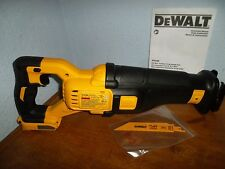 DeWalt DCS388B 60V FlexVolt Cordless Li-ion Reciprocating Saw *NEW DCS388