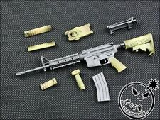 """1:6 Scale WWII M4A1 SOPMOD Gun Weapon Model Toy For 12"""" Action Figure Toys"""
