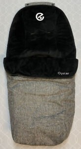 Babystyle Oyster 2 Pushchair Footmuff Cosy Toes - Wolf Grey - Great Condition