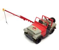 "Original Jurassic Park Movie Bush Devil Tracker Jeep toy vehicle for 5"" figures"