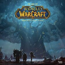 WORLD OF WARCRAFT - 2019 WALL CALENDAR - BRAND NEW - ART 078421