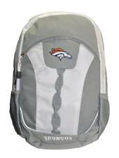 Nfl Denver Broncos Gray & White Team Backpack