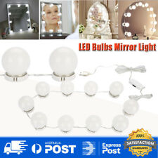 LED Vanity Mirror Light With 10 Dimmable Bulbs Kit for Makeup Dressing Table AU