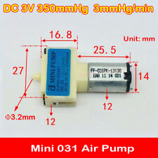 3.2mm DC 3V Micro Mini 031 Air Pump Small Oxygen Gas Pump DIY Aquarium Fish Tank