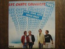LES CHATS SAUVAGES DICK RIVERS 45 TOURS FRANCE LOVE (3)