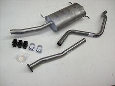 Auspuff Auspuffanlage Abgasanlage VW Golf Scirocco 52B 1,6 1,8 3tlg. Bj. 86-90