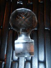 Antiker Stöpsel Glasverschluss, Glasstöpsel No. 11