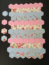 100 Cath Kidston Patchwork Hexagons 3 Inches Quilting Craft Sewing New
