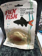 Vintage Lynco Fun Fish Pink Kissing Aquarium Accent Figure (H2)