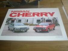 Nissan Cherry bochure Oct 1982