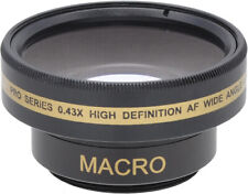 37mm Wide Angle Lens for DSLR Cameras/Camcorders
