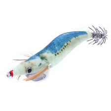 Fishing Lures Jigs Saltwater Luminous Squid Hook Baits 2.5#3.0#3.5# Lures 10Pcs