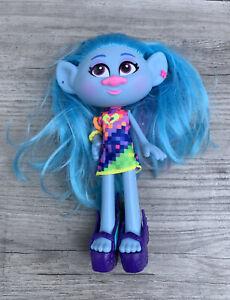 Hasbro Trolls Glam Chenille Fashion Doll WORLD TOUR Doll Used