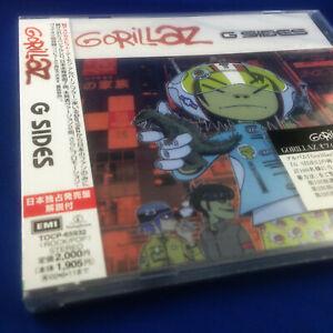 GORILLAZ: G SIDES (ULTRA RARE JAPANESE 1ST PRESSING 2001 PROMO CD TOCP-65932)