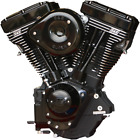 S&S Engine V124, Super G, SS Ignition, 640 Cam, Gloss Black/Chrome, Harley EVO