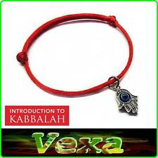 Hand Of Fatima KABBALAH Red Bracelet luck Success Protection Evil Eye Hamsa BR46