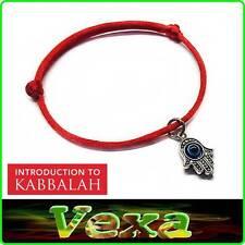 Hand Of Fatima KABBALAH Red Bracelet luck Success Protection Evil Eye Hamsa BR46