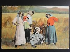 Man in Hay Field, 4 women 'STOP YOUR TICKLING' (PM) CHESHAM DUPLEX (15) 160515