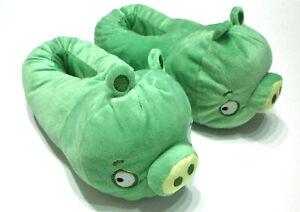 Angry Birds Hausschuhe * Green Pig * Größe wählbar * Pantoffel * NEU + OVP *