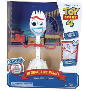 Toy Story 4 Interactive Forky, Walks, Talks & Dances, 35+ Sayings Thinkway Toys