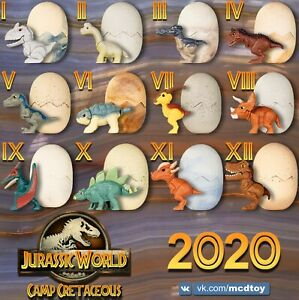 McDonald's Toy Happy Meal 2020 Jurassic World Camp Cretaceous