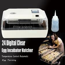 24 Egg Uova Mini Incubatori incubatrice Egg Incubator Auto Small Chicken Poultry