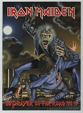 Iron Maiden - No Prayer On The Road 1990/91 JAPAN PROGRAM March 28-April 5 1991