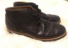 Perry Ellis America ankle boots Chase Chukka Boots Black Shoes 6 boys 7.5 womens