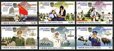 Hong Kong 1098-1103, MNH. People's Liberation Army Forces of Hong Kong, 2004