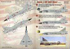 Print Scale 1/72 Convair F-102 Delta Dagger Part 2 # 72150