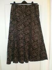 Dash Midi A Line Brown Skirt, Size 12
