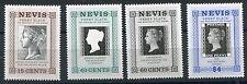 Nevis 1990 anniv 1°francobollo II°serie 525-28  mnh