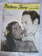 1952 PICTURE SHOW-Trevqr Howard,Kerima in OUTCAST OF THE ISLANDS, 1st March