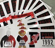 Polo Ralph Lauren Winter Stadium Stickers Limited edition