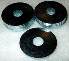 11 x M8 - 30mm Repair Washers anti-rust zinc plated, mudflaps, heatshield repair